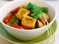 Curry Chicken with Bell Pepper recipe