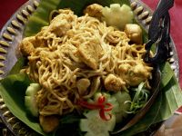 Spicy Asian Noodle Bowl recipe