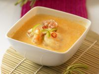 Curry Coconut Soup with Shrimp recipe