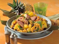 Curry Rice with Duck and Pineapple recipe