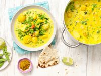 Curry with Peas and Potatoes recipe