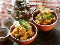 Curry with Red Lentils and Potatoes recipe