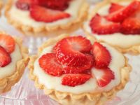 Custard and Berry Tarts recipe