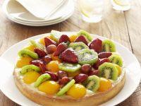Custard Gateau with Fruit recipe