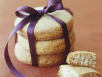 Butter Cookie Stack for a Gift recipe