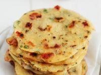 Dairy Free Tomato and Chilli Semolina Pancakes recipe