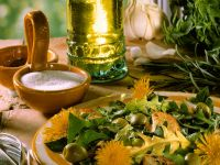 Dandelion Salad recipe