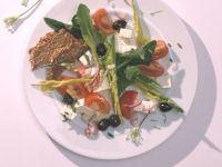 Dandelion Salad with Feta Cheese recipe