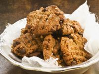 Dark Chocolate Chip Cookies with Nuts recipe