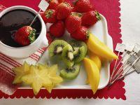 Chocolate Fondue with Fruit recipe