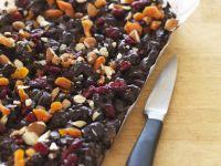 Dark Fruit and Nut Slab recipe