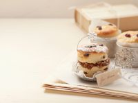 Date and Fig Stuffed Crumpets recipe