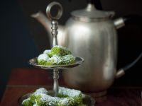 Date Rolls with Pistachios recipe