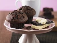 Decadent Chocolate Muffins recipe