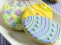 Decorated Egg Cookies recipe