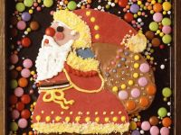 Decorated Gingerbread Figures