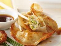Deep-Fried Chicken Dumplings recipe
