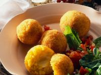 Deep-Fried Rice Balls recipe