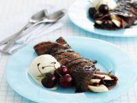 Dessert Pancakes with Ice-cream recipe