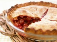 Dessert Pie Baked With a Cherry Filling recipe