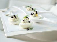 Deviled Eggs with Caviar recipe