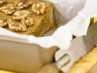 Diabetic-friendly Light Nut Brownies recipe