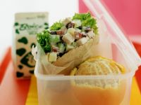 Diced Chicken Pitta Sandwiches recipe