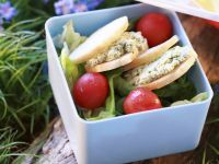 Diced Chicken Salad Sandwiches recipe