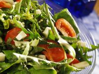 Diced Feta and Mixed Leaf Salad recipe