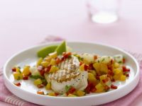 Diced Mango Salsa with Chicken recipe