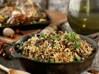 Dried Fruit and Nut Rice Dish recipe