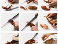 Dismantling Cooked Lobster recipe