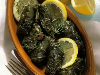 Dolmades (Stuffed Grape Leaves) recipe