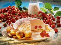 Dome Cake with Strawberries recipe