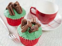 Double Chocolate Peppermint Muffins recipe