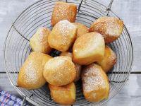 Doughnuts with Powdered Sugar recipe