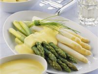 Dressed Asparagus Spears recipe
