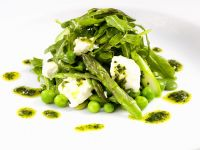 Dressed Asparagus with Soft Cheese recipe