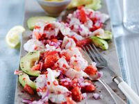Dressed Raw Fish Platter recipe
