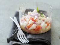 Dressed White Fish Appetisers recipe