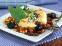 Italian Fish with Olives recipe