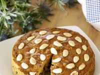 Dried Fruit and Almond Cake recipe