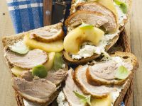 Duck and Apple Sandwiches recipe