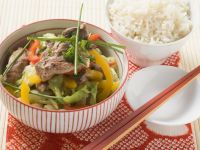 Duck and Cabbage Stir-Fry recipe