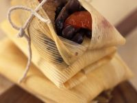 Duck and Kidney Bean Tamales recipe