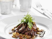 Duck Breast with Porcini Mushrooms and Salsify recipe