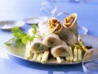 Duck Rice Paper Wraps recipe
