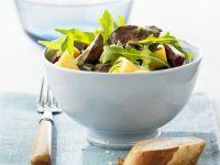 Duck Salad with Mango and Honey Orange Vinaigrette recipe