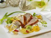 Duck with Curry Sauce and Vegetables recipe