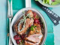 Duck with Lavender and Honey recipe